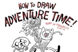 This Adventure Time Art Book Helps Fans Draw Jake and Finn