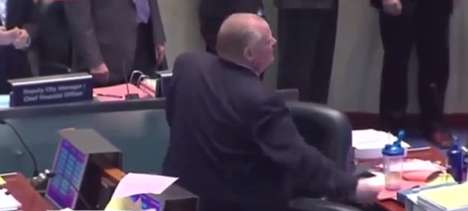 Musical Mayoral Tributes - The A Clever Rob Ford Dancehall Remix Celebrates a New Scandal