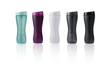 Sleek Water Bottle Shakers - The TRIMR Water + Shaker Bottle Fuses Function with Genius Design