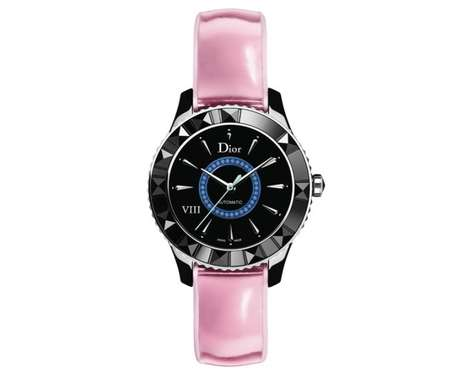 Elegant Water-Resistant Timepieces - The Ceramic Dior VIII Watch Makes Your Wrist Shine