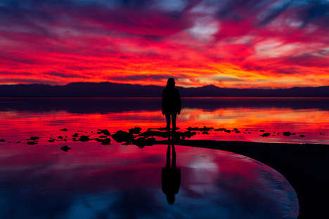 colorful landscape photography