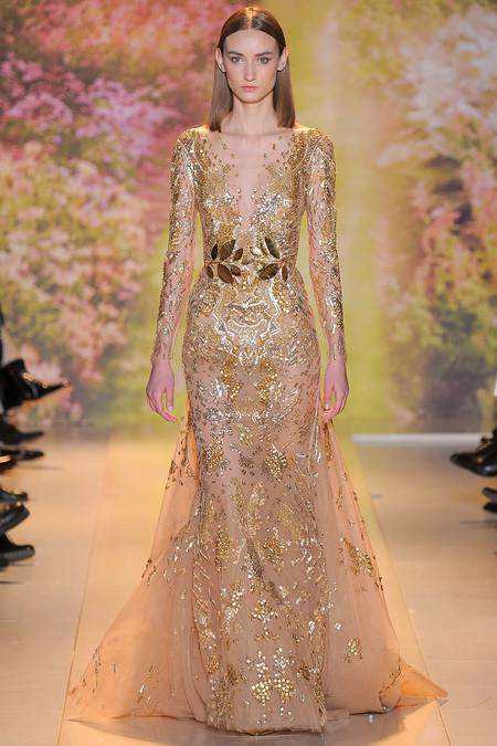 Floral Fanstasy Collections - The Zuhair Murad Spring 2014 Couture Collections Showed in Paris