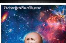 New York Times Magazine's Planet Hillary Cover is Out of this World