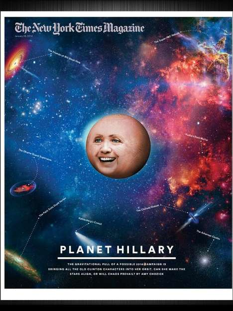 Political Planetary Covers - New York Times Magazine