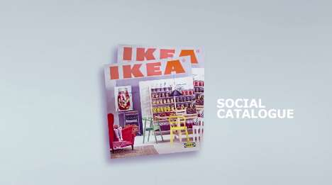 Catalog-Sharing Campaigns - The IKEA Social Catalogue Campaign Had Its Fans Digitize Pages