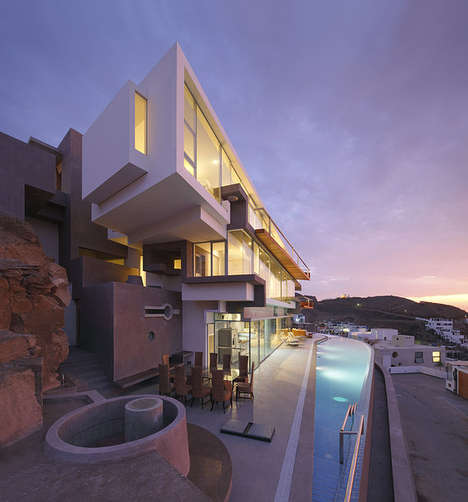 Monumental Peruvian Party Pads - This Stunning Beach Estate is Perfect for Entertaining Guests