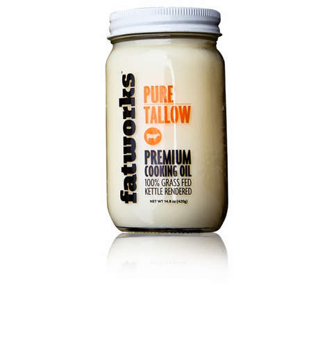 Simply Marked Mason Jars - Fatworks Oil Packaging Sheds the Visual Weight of Too Much Image and Text