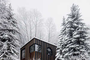 This Modern Cabin Designed by Bence Turanyi was Built in Two Days