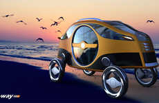 16 Awesome Autonomous Auto Concepts - From Reversible Concept Cars to AI-inspired Automobiles