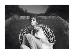 This Vogue Paris February 2014 Shoot Features an Ethereal Garden