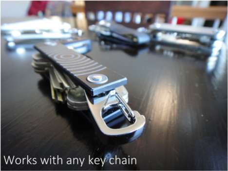 Easily Detachable Key Chains - The Key-Valet Makes it Easy to Switch Up Keys