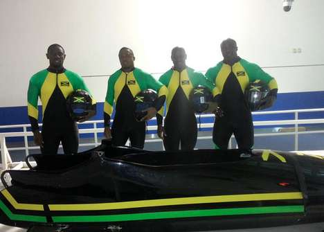 Crowdfunded Olympic Teams - The Jamaican Olympic Team Raised the Funds It Needed Online