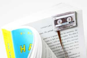 Never Lose Your Page with the Cassette Tape Bookmark