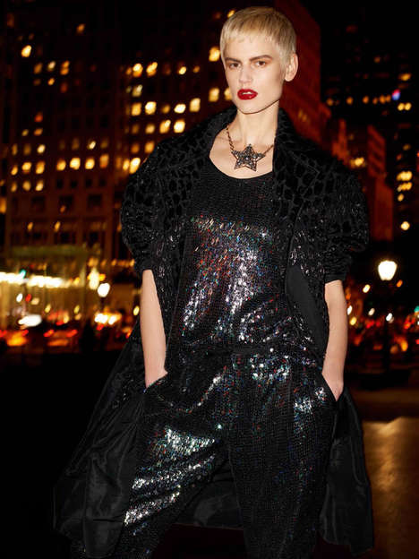 Glamorous Nighttime Editorials - The Vogue Paris