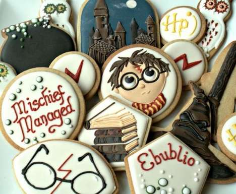 19 Humorous Harry Potter Confections - From Magical Chewy Confections to Wizardly Sport Cake Pops