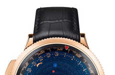 Planetarium Timepieces - The Solar System Watches by Van Cleef & Arpels is Keeps Track of Planets