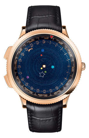 Planet-Predicting Timepieces - This Solar System Watch is Strikingly Beautiful