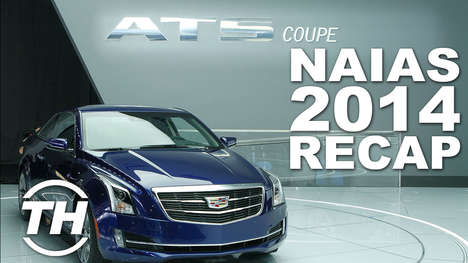 Annual Auto Show Recaps - Taylor Keefe Recaps The Best of the 2014 NAIAS