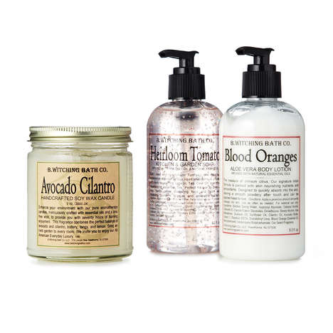 Food Connoisseur Cleansers - The Gourmet Chef Gift Soap Set Features Wonderfully Tasty Scents