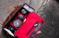 Compartmentalized Camera Bags