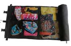 Rollable Suitcase Mats - The ROLO Travel Bag Helps Keep Clothes Tidy and Wrinkle-Free