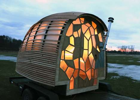 Millennial-Inspired Mobile Dwellings - Green Mountain College Students Made the OTIS Mobile Home