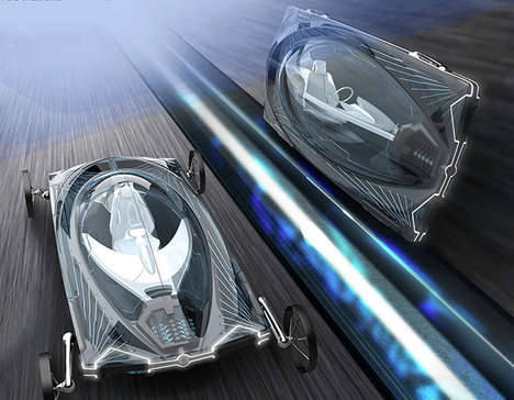 Sideways Speeding Autos - The AKA24 Concept Car Will Reorient Between Manual and Autonomous Modes