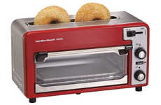 Dual Functionality Toasters - This Toaster Oven Has a Bread Slot
