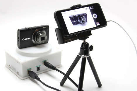 Fully Automatic Rotating Cameras - The zCapture is an Automatic Rotating Camera