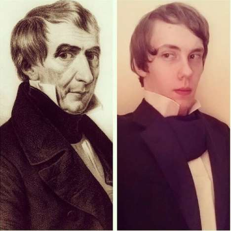 High School President Selfies - This High Schooler Dresses Up as All the Presidents and Documents It