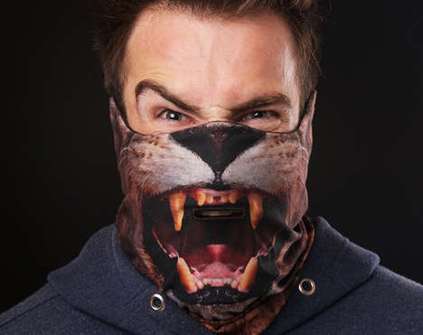 Vicious Animal Ski Masks - This Scary Ski Mask is No Match for Brutal Winters