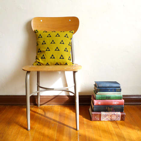Gamer Couch Cushion Covers - The Zelda Pillowcase Lets You Bring the Triforce to Your Living Room