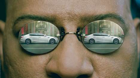 Sci-Fi Spoof Car Ads - This Kia Super Bowl Teaser Ad Features Morpheus of the Matrix