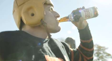 Retro Football Soda Ads - This Pepsi Super Bowl Ad Imagines the Origins of Halftime