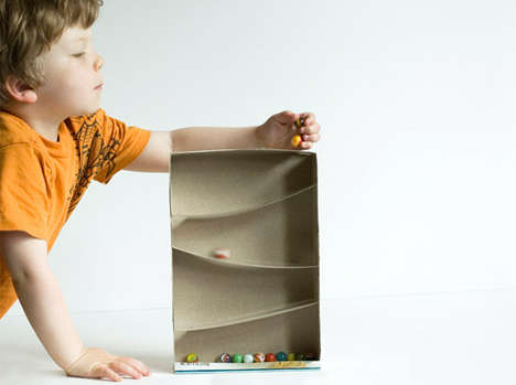 48 Crafty DIY Cardboard Projects - From Recyclable Ball Games to DIY Cardboard Clocks