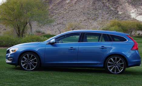 Scandinavian Station Wagons - The 2015 Volvo V60 is More than Just a Station Wagon