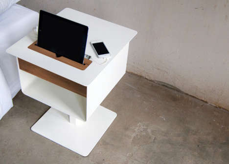 81 Tech-Friendly Furnishings - From Tablet-Charging Tabletops to Built-In iPad Beds
