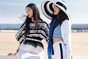 KT Auleta Shot Shu Pei Qin and Tian Yi  for Vogue China January 2014