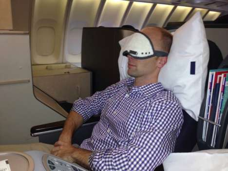 Nap-Optimizing Sleeping Masks - The Napwell Mask Provides Programmed Naps And Sunrise-Like Awaking