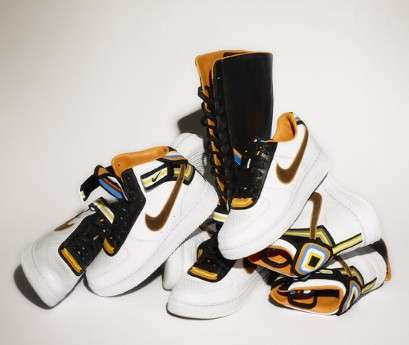 Knee-High Sneaker Collaborations - Riccardo Tisci for Nike Creates Incredible Knee-High Sneakers