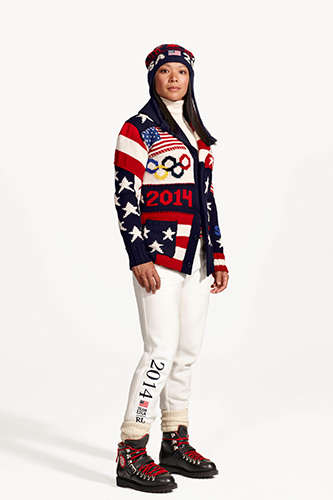 Couture Olympic Uniforms - The Ralph Lauren Olympics 2014 Uniforms are Symbolic of America
