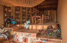 Lounge-Worthy Libraries - This Library was Designed by BC Architects for a School for Deaf Children