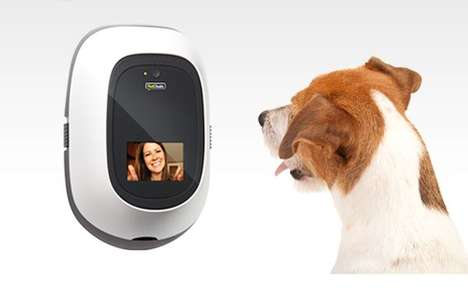 Interactive Pet Interfaces - PetChatz Keeps an Eye On Your Canine While You're Out of the Hous