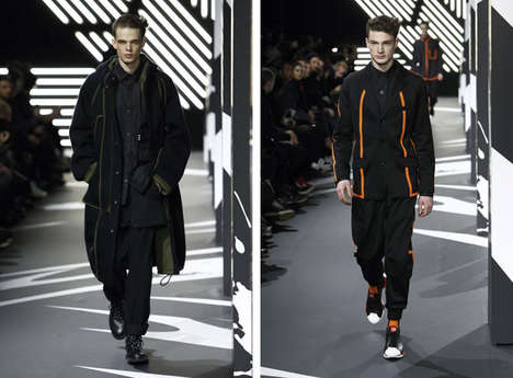 Comic Book Sports Collections - The Y-3 Fall 2014 Collection is Sportswear at its Best