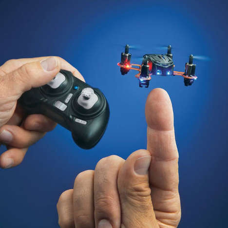 Finger-Size Quadcopters - The Proto X is a Teeny Tiny Toy Quadcopter That Can Fly into Tight Spaces