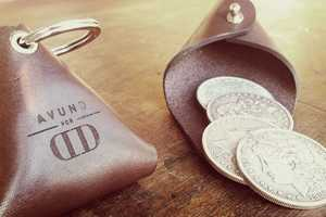 The Fly Trap Coin Pouch by Dan and Dave is Modern Yet Timeless
