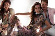 The Etro SS 2014 Campaign by Mario Testino Embraces Color