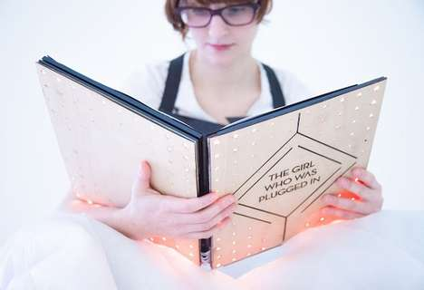 Augmented Sensory Wearable Books - This Book Can Be Worn to Actually Experience a Story