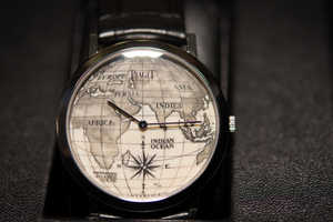 The Piaget Altiplano Scrimshaw Watch Puts the World On Your Wrist