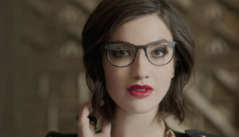 Stylish Prescription Smart Glasses - Google Glass's Titanium Collection Makes Prescriptions Smarter
